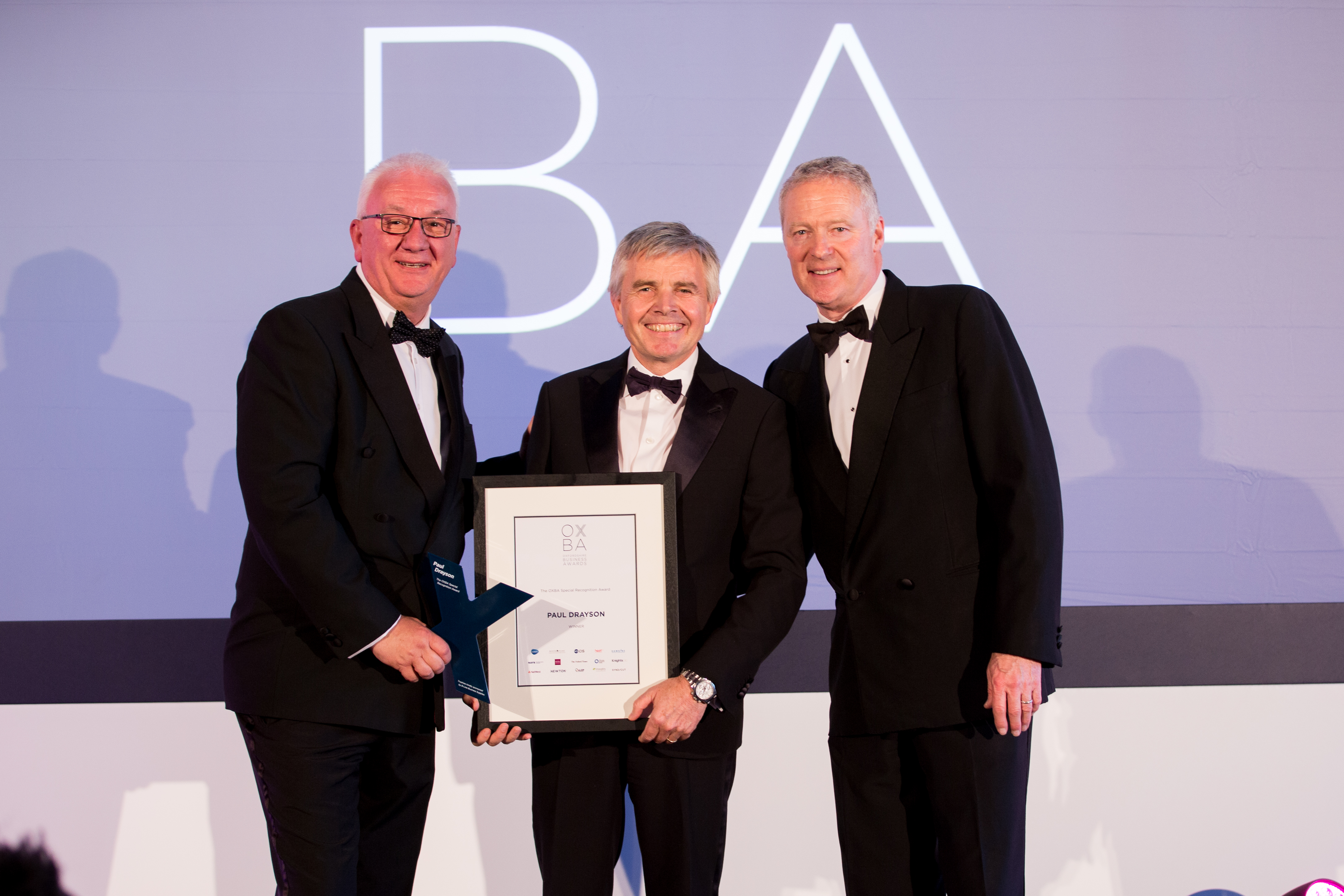 The OXBA Special Recognition Award