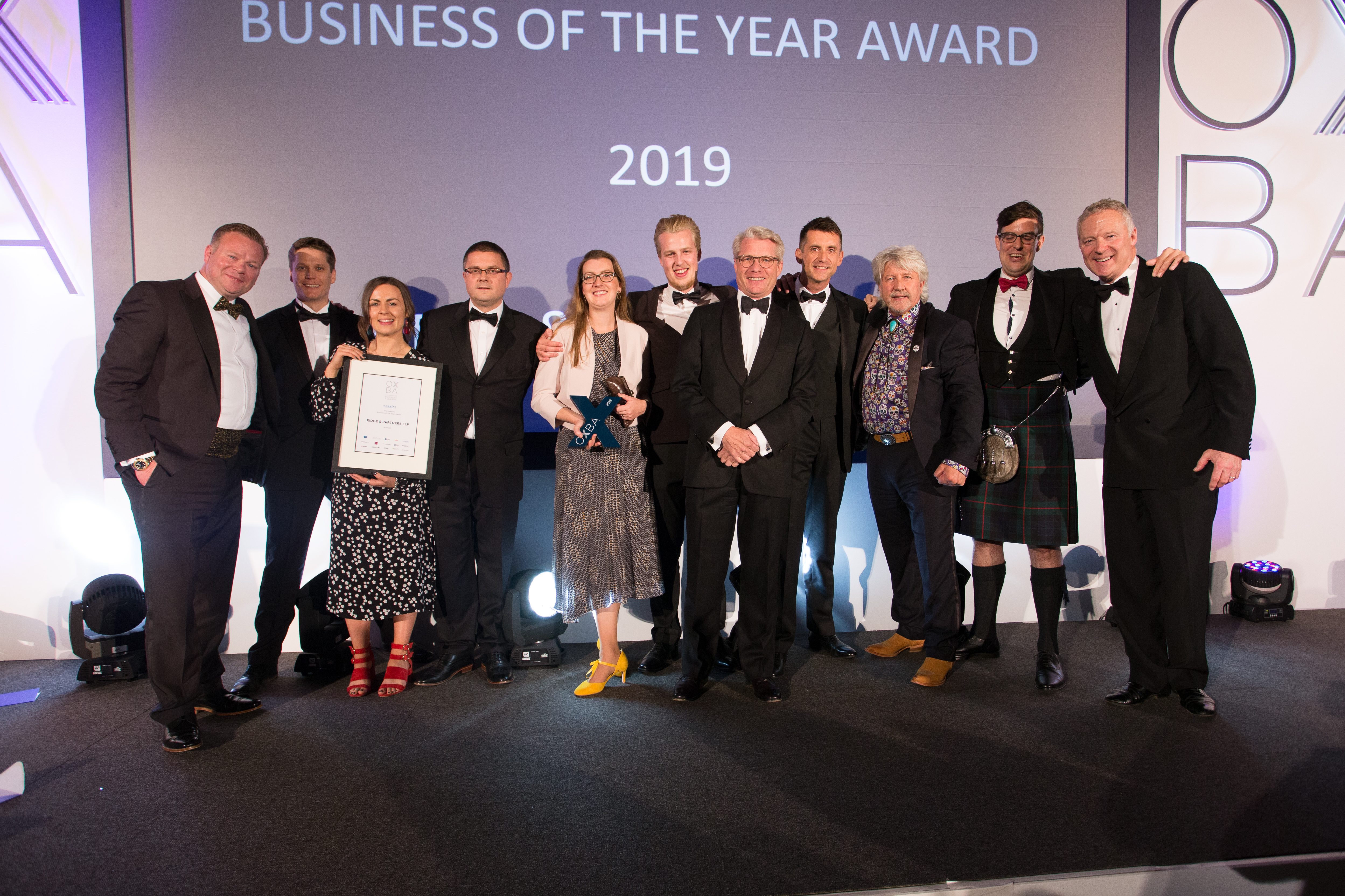 The Hawkins Business of the Year Award